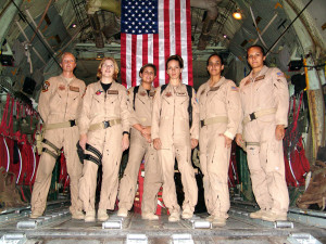 C-130 - First all female crew