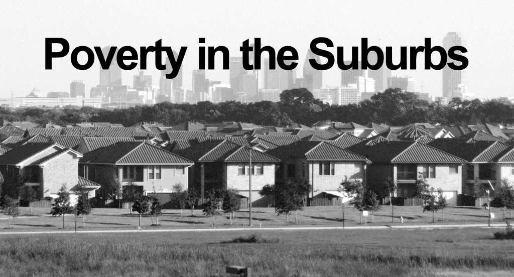poverty in suburbs