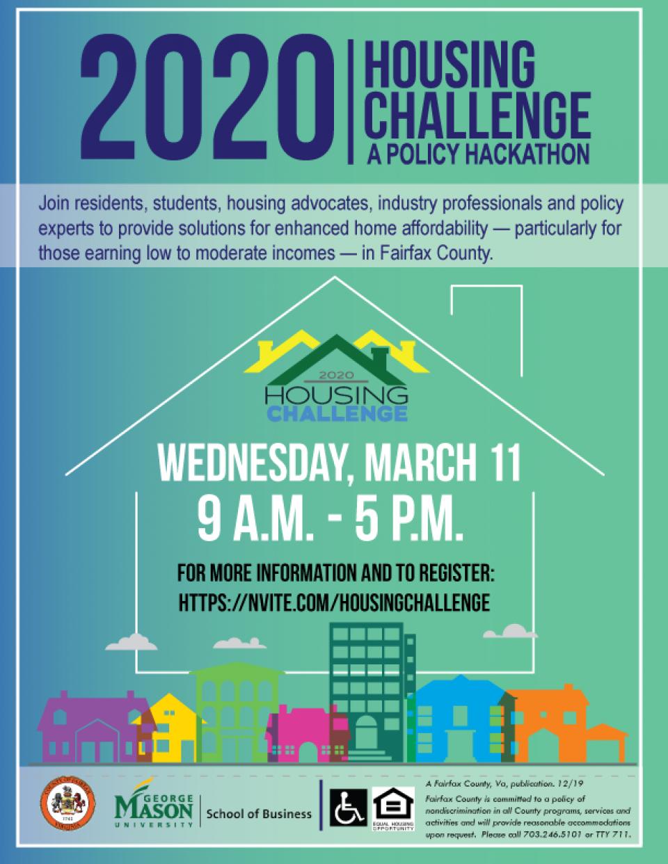 2020 Housing Challenge Flyer – Image
